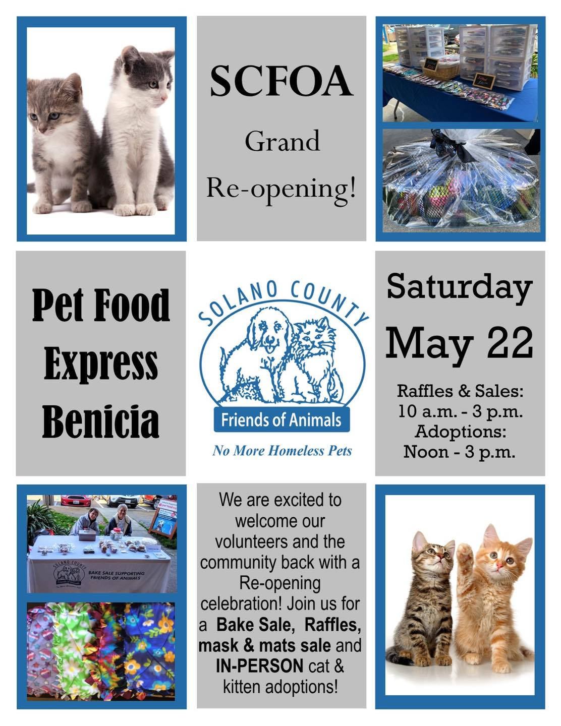 MAY 22 IN-PERSON ADOPTION EVENT